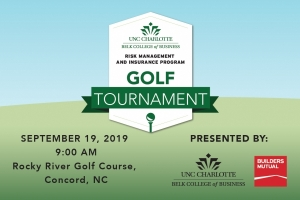 UNC Charlotte Belk College of Business Risk Management & Insurance Golf Tournament