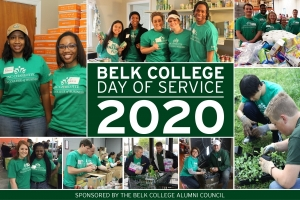 Belk College Day of Service 2020
