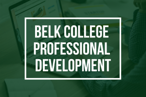 Belk College Professional Development