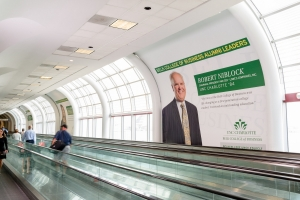 Belk College of Business Alumni Leaders featured at Charlotte Douglas International Airport