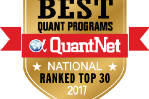 UNC Charlotte's M.S. in Mathematical Finance program ranked No. 23 by QuantNet