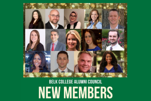 14 Elected to Serve on Alumni Council