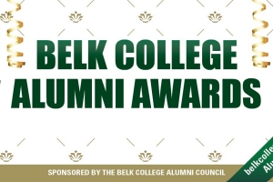 Announcing the 2020 Belk College Alumni Award Honorees
