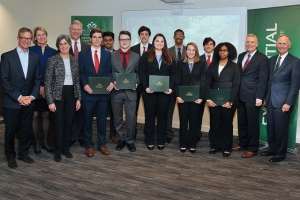 21 Belk Scholars in Business Analytics receive full scholarships
