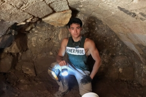 Belk and Levine Scholar Joined Archaeological Excavation Team in Mount Zion