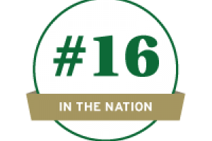 #16 ranking for UNC Charlotte's M.S. in Mathematical Finance