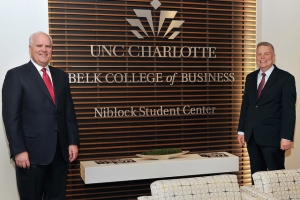 Donation from Lowe's CEO opens Niblock Student Center