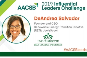 Alumna DeAndrea Salvador honored as 2019 AACSB Influential Leader